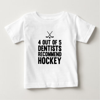 Recommend Hockey Baby T-Shirt