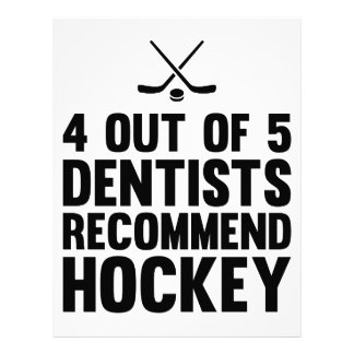 Recommend Hockey Letterhead