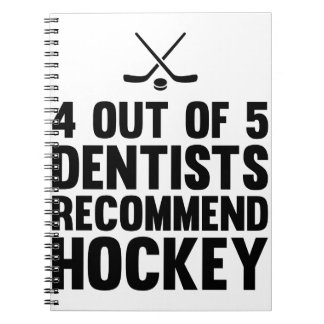 Recommend Hockey Notebook