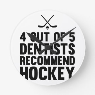 Recommend Hockey Round Clock