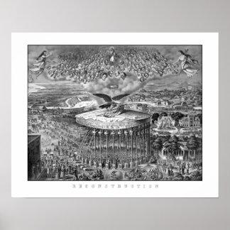Reconstruction -- Civil War Era Poster