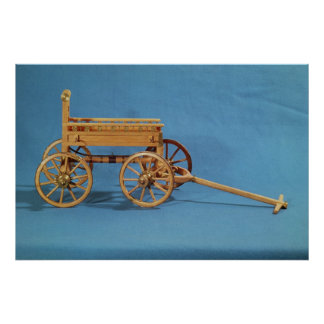 Reconstruction of a chariot found poster