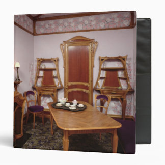 Reconstruction of a salon of the Cafe de Paris Binder