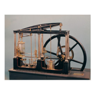 Reconstruction of James Watt's steam engine Postcard