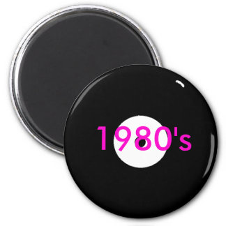 record, 1980's magnet