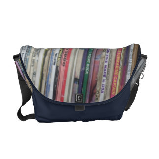 record bag messenger bags