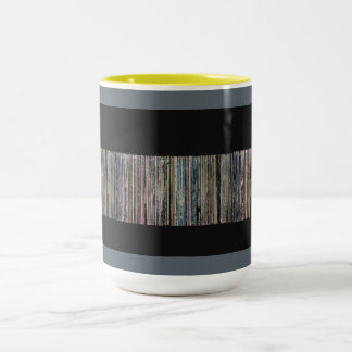 Record collection Two-Tone coffee mug