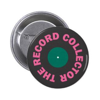 Record Collector Button