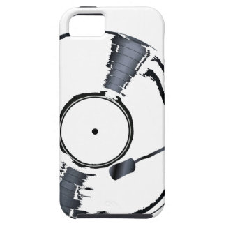 Record Deck Background iPhone 5 Case