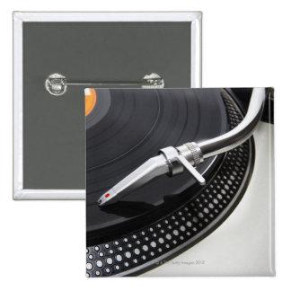 Record Needle Stylus 2 Inch Square Button
