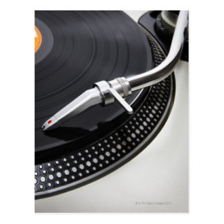 Record Needle Stylus Postcard
