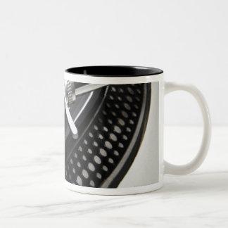 Record Needle Stylus Two-Tone Coffee Mug