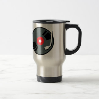 Record Player Travel Mug