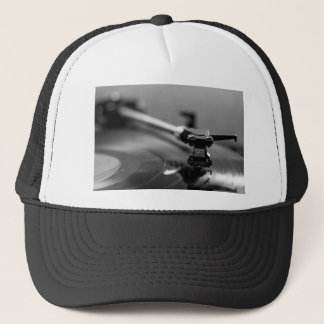 Record Player Trucker Hat