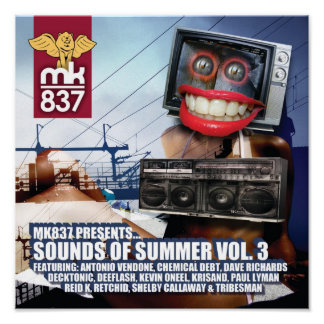 Record Sleeve Proof: Sounds of Summer 3 Poster