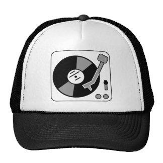 Record Turntable Trucker Hat
