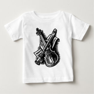 recorder and violin baby T-Shirt