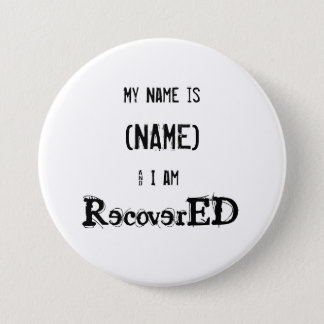 """RecoverED  Aa  Button 3"""" Add Name"""