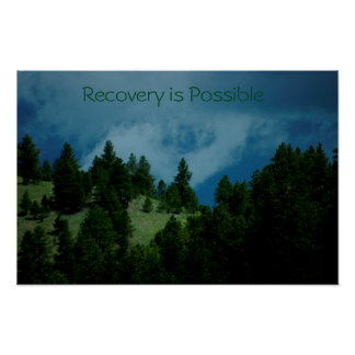 Recovery is Possible poster/Motivational IV Poster
