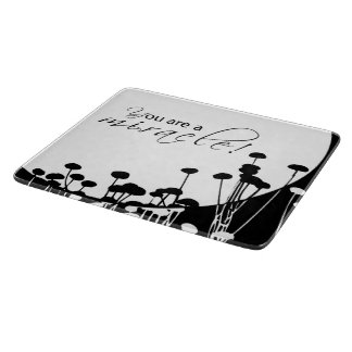 Recovery Miracle, Black and White Cutting Board