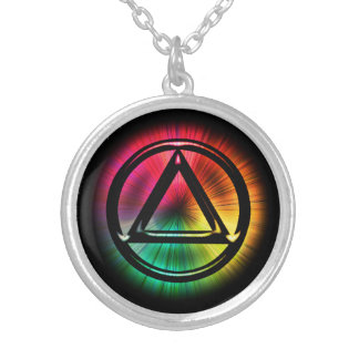 Recovery Sobriety Sober Necklace Pendant