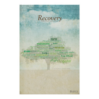 Recovery Tree Posters