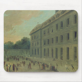 Recreation at the Saint-Lazare Prison Mouse Pad