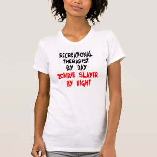 Recreational Therapist Zombie Slayer T-Shirt