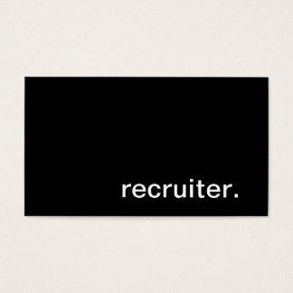 Recruiter Business Card