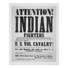 Recruitment poster for the U.S. Volunteer Cavalry,