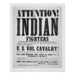 Recruitment poster for the U.S. Volunteer Cavalry,