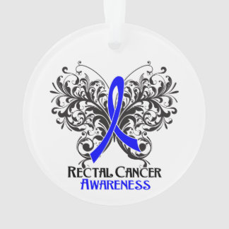 Rectal Cancer Awareness Butterfly