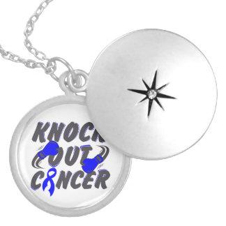 Rectal Cancer Knock Out Cancer Locket