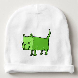 rectangle dog funny cartoon baby beanie