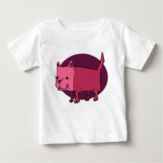 rectangle dog funny cartoon baby T-Shirt