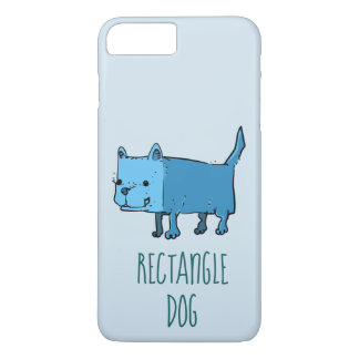 rectangle dog funny cartoon Case-Mate iPhone case