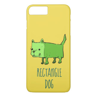 rectangle dog funny cartoon iPhone 8 plus/7 plus case