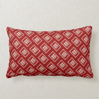 Rectangle Double Happiness Chinese Wedding Cushion