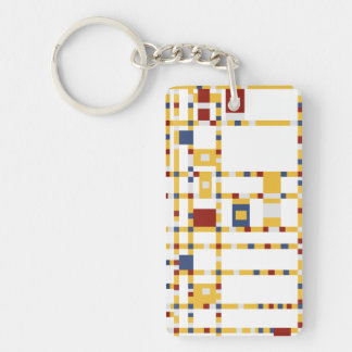 Rectangle (single-sided) Keychain