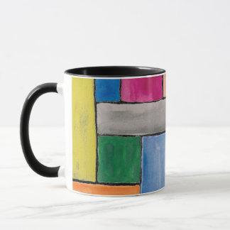 Rectangle Watercolor Mug