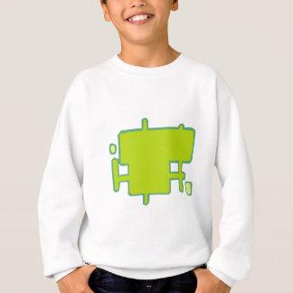 Rectangles of boxes sweatshirt