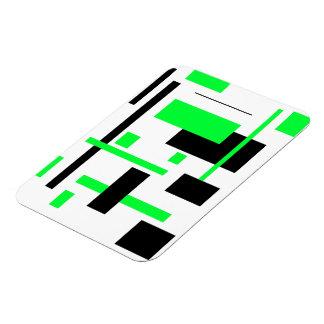 Rectangular Pattern 22 Rectangular Magnet