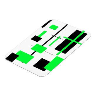 Rectangular Pattern 23 Magnet