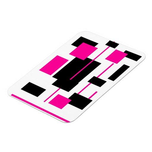 Rectangular Pattern 27 Vinyl Magnets
