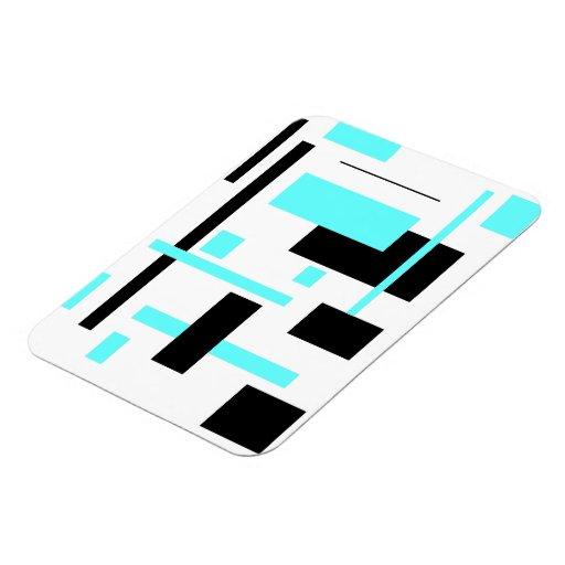 Rectangular Pattern 28 Flexible Magnet
