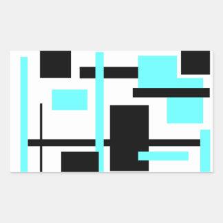 Rectangular Pattern 60 Sticker
