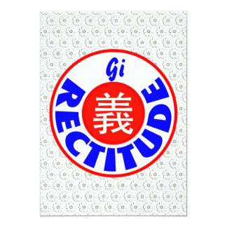"""Rectitude 5"""" X 7"""" Invitation Card"""