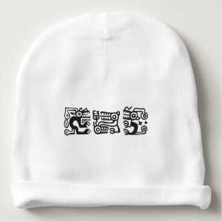 Recuay culture decorative motifs baby beanie