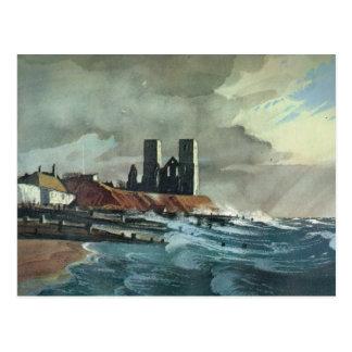 Reculver Towers, Thanet, Kent Postcard