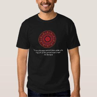 RÉCUPÉRATION spirituelle de citation de St Bernard Tee-shirts